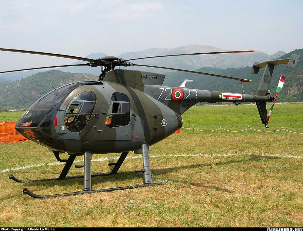 Elicottero Nh500 : Nuova pagina